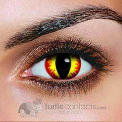 Devil Contact Lenses (Pair)