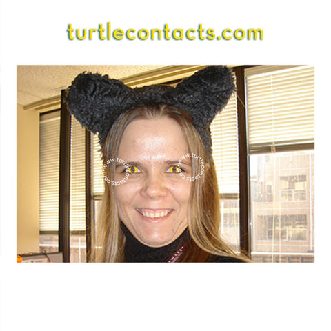 4b3e7c199a Yellow Cat Contact Lenses (90 Day) – TurtleContacts.com
