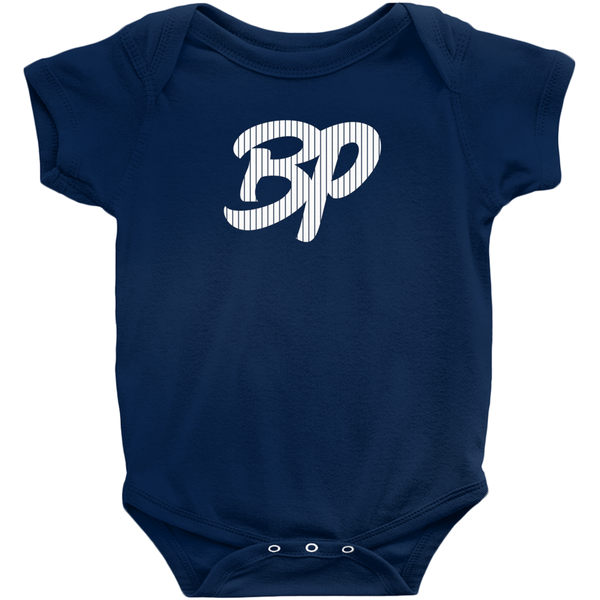 BP Pinstripes Infant Onsie