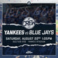 BP Crew Game #4: August 22nd vs. Blue Jays