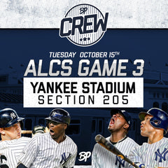 Playoff Tickets: Yankees vs. Astros,  ALCS Game #3