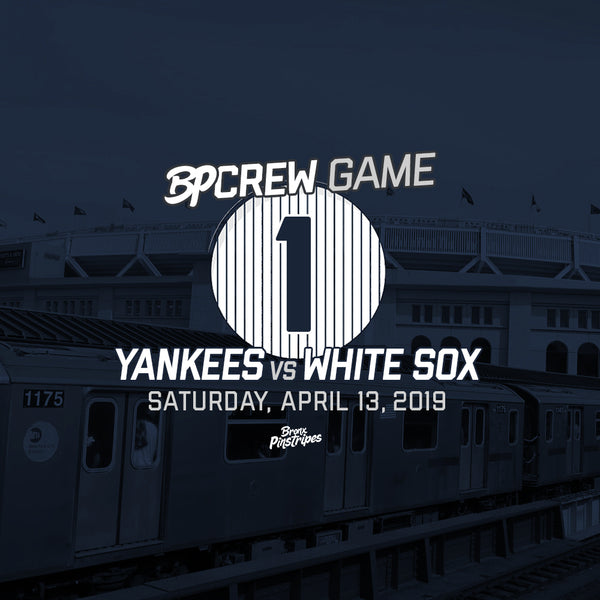 BPCrew Game #1: April 13th vs. White Sox