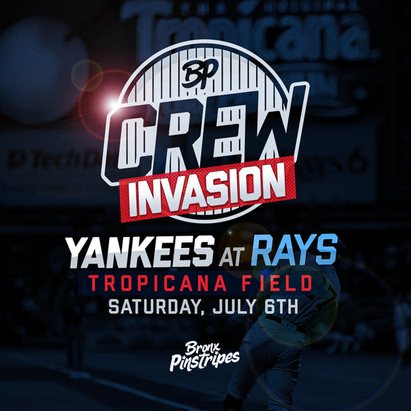 BPCrew Tampa Invasion: July 6th, Tropicana Field