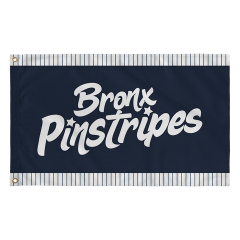 Bronx Pinstripes Flag