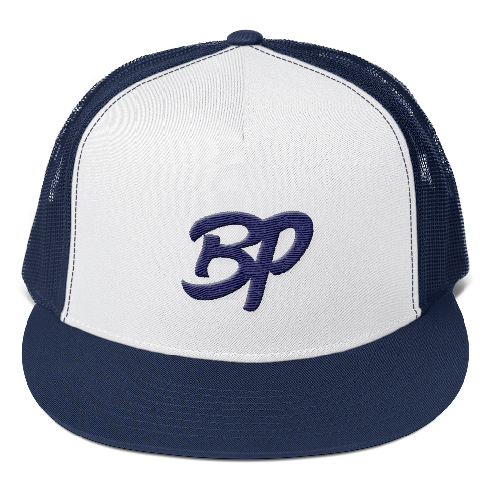 BP Mesh back Cap - Bronx Pinstripes