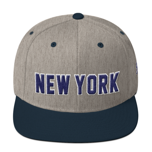 New York - Wool Blend Snapback
