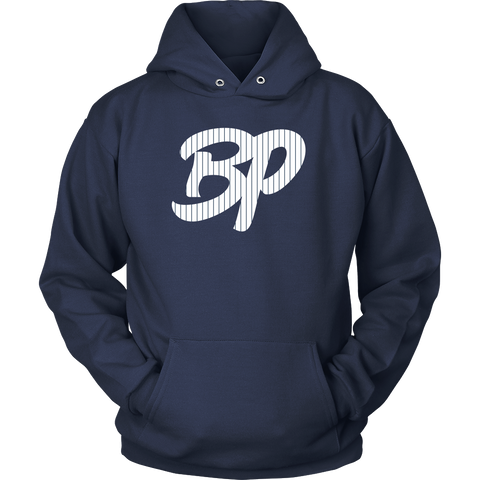 BP with Pinstripes Hoodie - Bronx Pinstripes