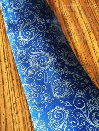 Gray Forget-Me-Not / Ancient York Masonic Tie Combo