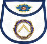"""Ring of Acacia"" Masonic Lodge Officers Aprons (Set of 11)"