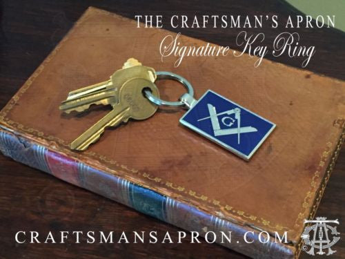 TCA Signature Masonic Key Ring