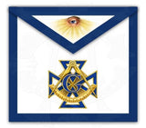 """The Maltese"" Past Master Masonic Apron"