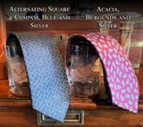 TWO Working Tools Rocks Glasses and Neckties - Choose your design!