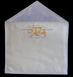 Plain White Member's Apron - Square