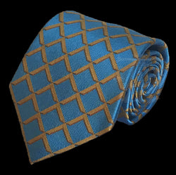 Master's Square Masonic Tie, Scottish Blue