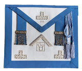 Pennsylvania Regulation Past Master's Embroidered Apron