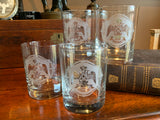 33rd Degree Scottish Rite Masonic Rocks Glasses (Set of 4)