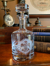 33rd Degree Scottish Rite Templar Masonic Decanter