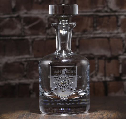 Knights Templar Masonic Decanter