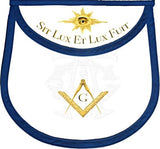 """And There Was Light"" Master Mason Apron"