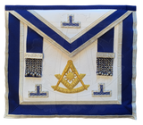 Massachusetts Regulation Past Master's Embroidered Apron