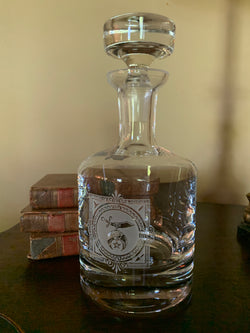 Shriner Masonic Decanter