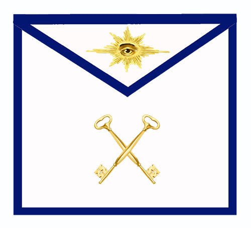 Traditional Masonic Lodge Officers Aprons (Set of 11)