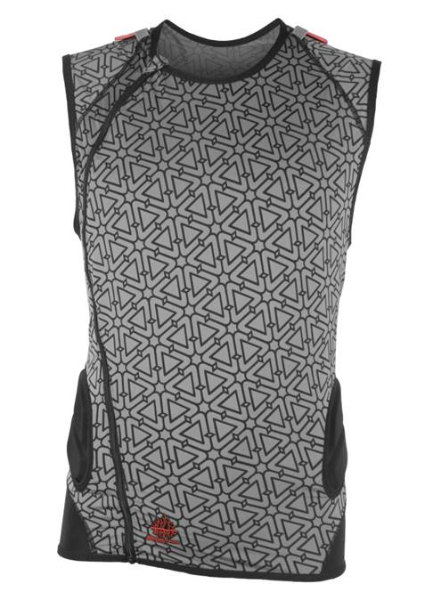 BACK PROTECTOR 3DF BLACK