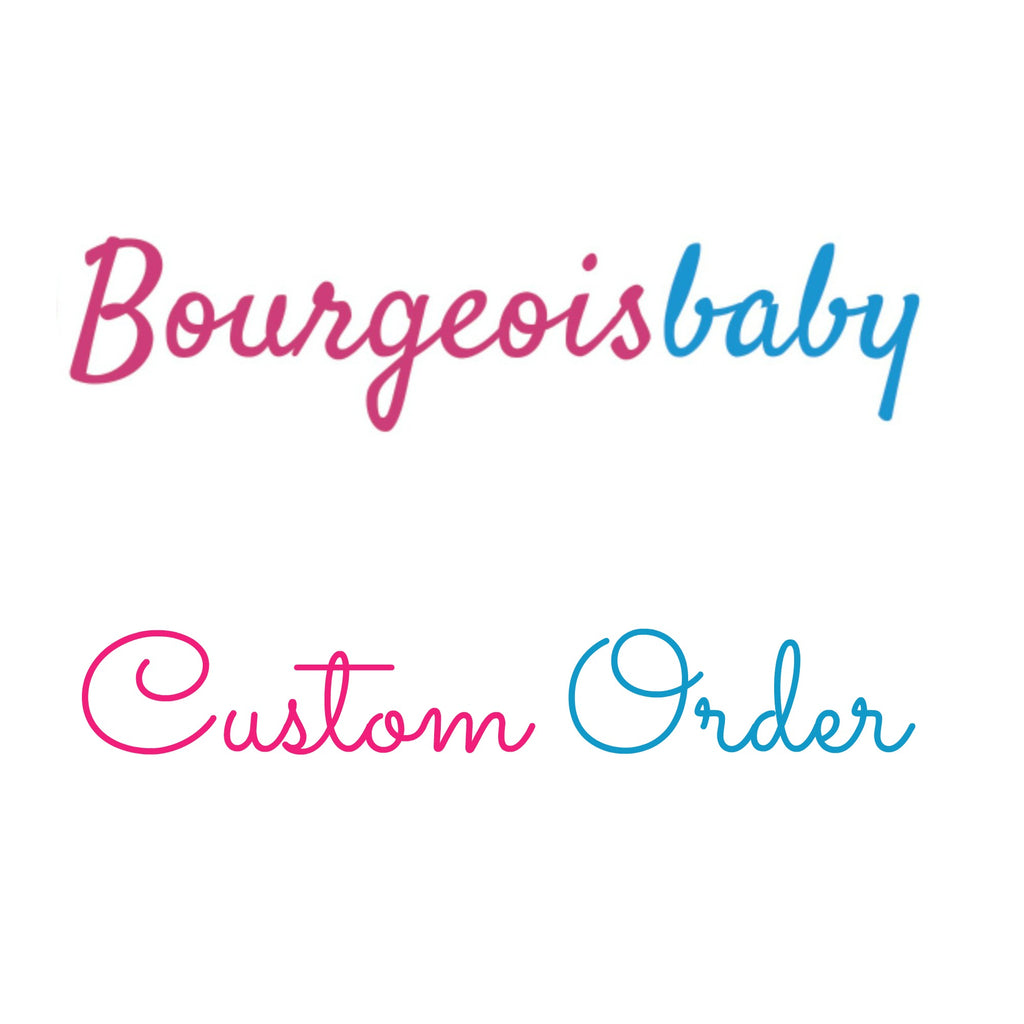 Custom Designer Baby Bibs Just For That Special Baby