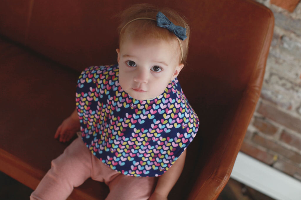 Our Designer Baby Bibs Aren't Just Fashionable