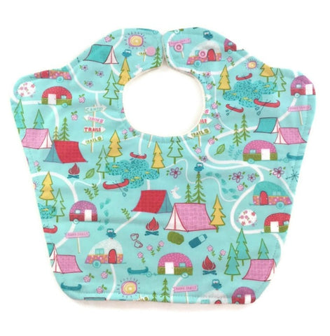 Happy Campers Original Bourgeois Baby Bib