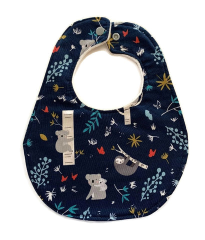 Koala and Sloth Premium Baby bib