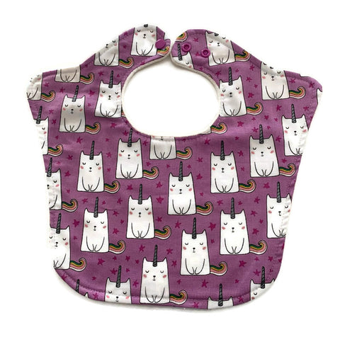 Cat Unicorn Original Premium Bourgeois Baby Bib