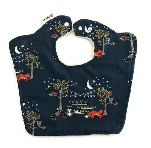 Organic Original Night Garden Baby Bib