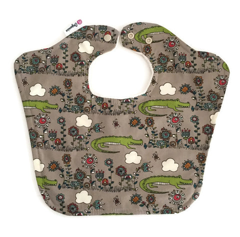 Organic Alligator Original Bourgeois Baby Bib