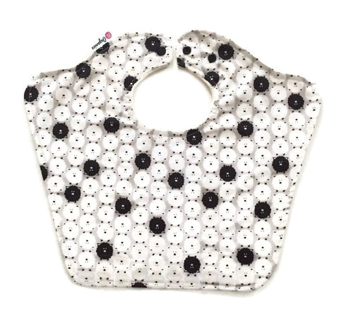 Organic Black Sheep Bourgeois Baby Bib