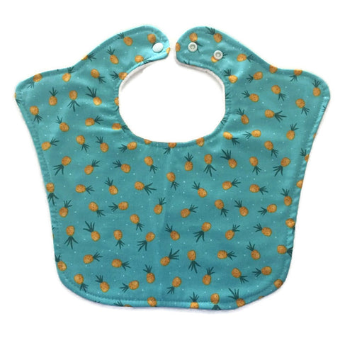 Pineapples Premium Baby Bib