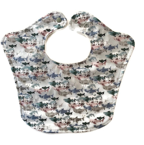 Shark Frenzy Original Baby Bib