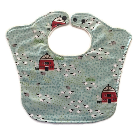 Sheep Farm Original Baby Bib