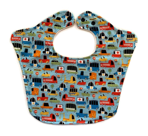 Transportation Original Bourgeois Baby Bib