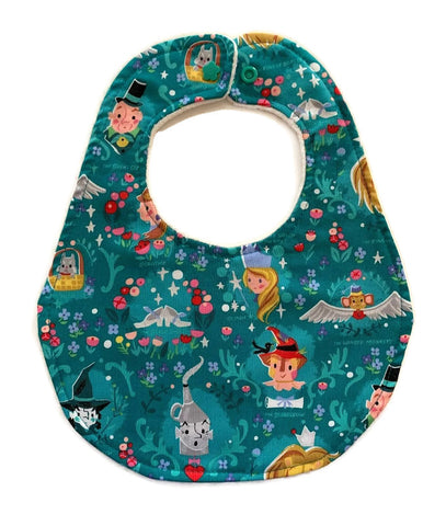 Wizard of Oz Designer newborn baby bib
