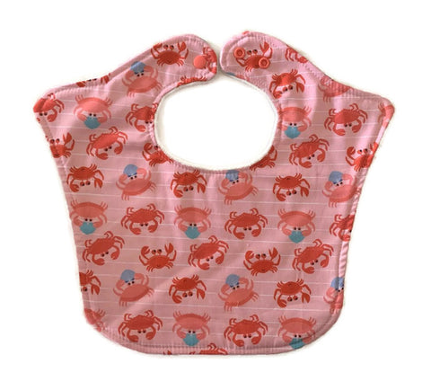 Crabs Original Bourgeois Baby Bib