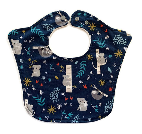 Koalas and Sloths Original Designer Baby Bib