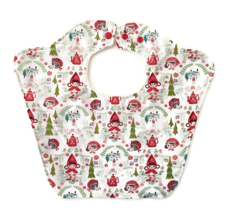 Little Red Riding Hood Original Designer Bourgeois Baby bib