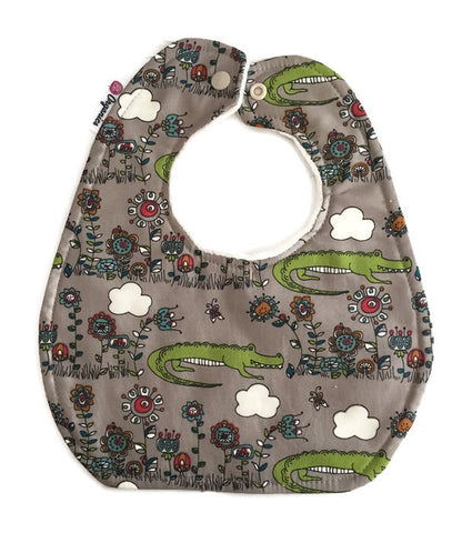 Alligator Organic Newborn Baby Bib