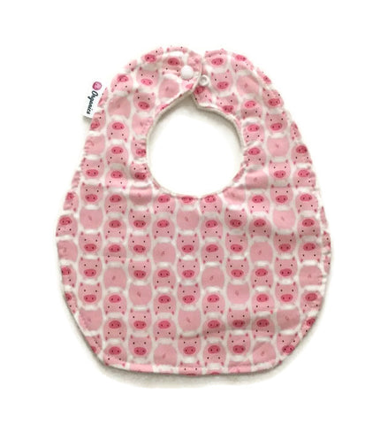 Organic Little Pigs Newborn Baby Bib
