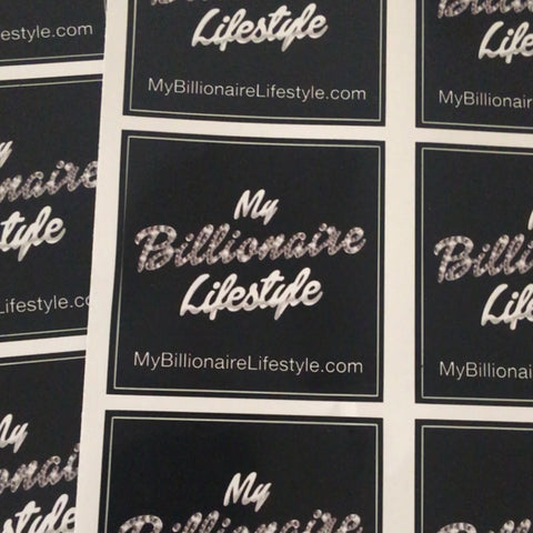 FREE My Billionaire Lifestyle sticker!