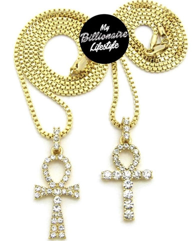 Bling Ankh / Shiny Ankh Set