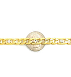Cuban Link Anklet with Stones