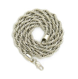 Silver Rope Chain (8mm)