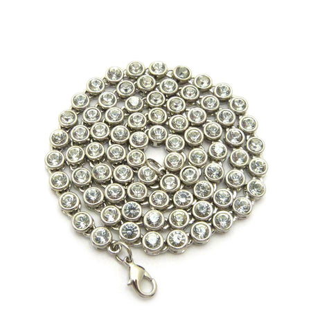 Sunflower Chain (Clear Stones)